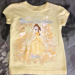 Disney store Belle short sleeve T-shirt